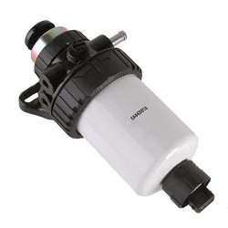 podstawa filtra pompka paliwa paliwowa, case 580sr 590sr 695sr new holland lb90 lb100 lb115  87563601