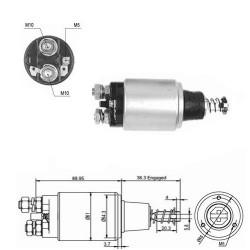 Wkład Filtr hydrauliki John Deere 4050E, 4250, 4650, 4850, 4055, 4255, 4455 (USA), 4555, 4755, 4955,