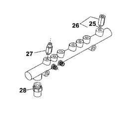 SUP2039 Zawór ciśnienia paliwa Common Rail John Deere