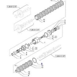 Ręczna pompka paliwa Perkins Fermec-Terex 750, 760, 860, 960, 965,