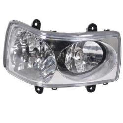 87602449 Lampa przednia prawa Case MAXXUM 100 110, 115 120 Puma 130 140 cvx FARMALL JX100,JX80,JX110