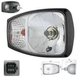 ELE1056 Lampa drogowa przednia jazdy Terex  Fermec 840, 860, 890, 990