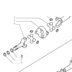 Napinacz paska Fendt 409, 409NA, 410, 410NA, 411, 411NA, 412, 412NA Serie: Favorit 711, 712, 712NA, 714, 714NA, 716