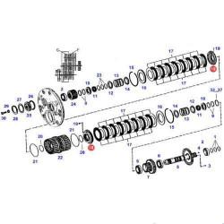 HYD1158 Pompa hydrauliczna Manitou MT, MLT, 6784, 9849, 23329, 246546, 7029111075
