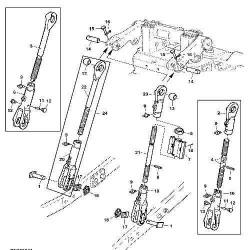 KO7079 Zestaw ślizgów Volvo BL71
