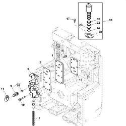 HYD1148 Pompa hydrauliczna New Holland LM410, LM420, LM430, 85816134
