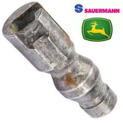 sworzeń 38mm Zaczep automatyczny SAUERMANN John Deere 6820, 6900, 6910 7320 FENDT Case maxxum puma New Holland