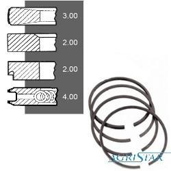 SCY4006 Pierścienie 4szt 105mm