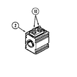 Cewka Ekektrozawór kpl przedniego napędu Case Magnum 7110 7120 7130 7140 7150 7210 7130, 7140, 7150, 7220, 7230, 7240, 7250