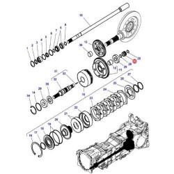Pompka - podstawa filtra separator paliwa JCB 320/07065 320/07458 JS145, JS160, JS180, JS200, JS210, JS220, JS230 32/925950