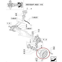 pompa oleju silnika Case MX215 Magnum 280 210 215 230 240 255 310 Steiger New Holland T8020 T8010 T8030 T8040 T9020 J991123