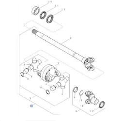 Włącznik kierunkowskazów i świateł mijania Deutz Fahr Fendt 04308177, 4308177EC10244 X830240136000