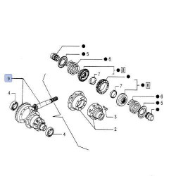 LIN1927 Linka rewersu żółw-zając Renault 110-54 120-54 133-54 145-54 155-54 TZ,TX,TS,TE,TA 7700026049 11532080
