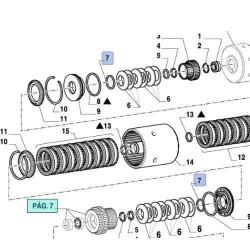 LIN1853 Linska sterowania Hydrauliki Renault,7700025571