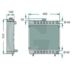 LIN9904 Przekładnia kątowa licznika motogodzin Deutz Fahr Agrostar, Agroprima, DX, 01174540, 01163788