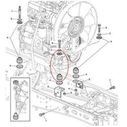 FPO4005 Filtr powietrza kabiny John Deere