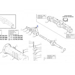 SPR5003 Koło zamachowe Case 580k 580sk 580sle