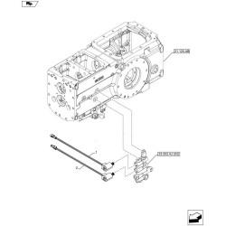 KLI1221 Parownik klimatyzacji Claas Renault Ares Axion Ceres