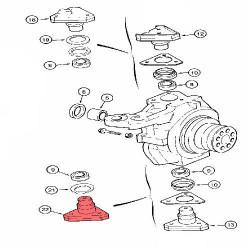 Chłodnica wody Case: MXM175, MXM190 Ford New Holland: TM175, TM190 87352193, 80233525, 82038688, 87306754, 82033792, 82038688