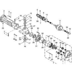 HYD7139 Pompa hydrauliczna jazdy