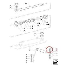 84000257 Czujnik strat ziarna Case New Holland TX32, TX34, TX36, TX62, TX63, TX64, TX65, TX66, TX67, TX68 CT5050, CT5060, CT5070