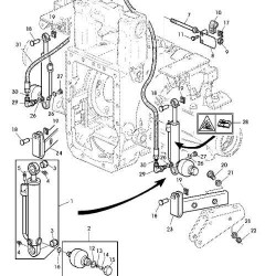 Pasek smuchawy siewnika 1854mm 34PJ Becker
