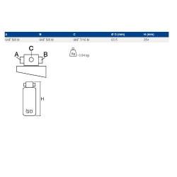 84015232 Łańcuch przenośnika ziarnowego New Holland TF46, TF78, TX 66, TX 67, TX 68 CASE CT5050 ct5080