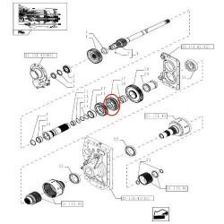 złącze wtyczka Końcówka przewodu paliwowego pompki Case 580sr 695sr 695sm new holland b110 lb115 lm430