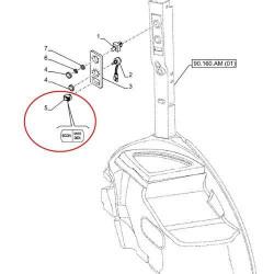 zestaw pompki hamulca uszczelniacz Case MX100, MX110, MX120, MX135, 247861A1, 247862A1 CARLISLE