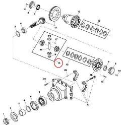 Caterpillar 930/950 Loading Shovel Komatsu Wagner Volvo Excavator Moxy MT36 398x125x(8)x28mm