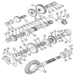 Uszczelniacz tulei silnika Cummins Case Magnum MX J907177 3907177 J917737 3917737 J907177
