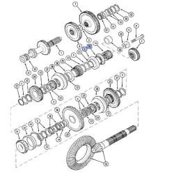 Uszczelka głowicy silnika New Ho0lland LB110, LB115, LB115B, LB85, LB90, LB95 87800517