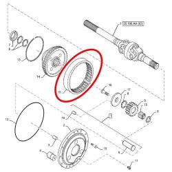SKR7122 Uszczelniacz Turbomatu sprzęgło Hydro 50x70/100x6,5/10,9 X550110001000