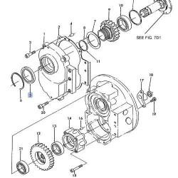 Uszczelniacz wałka skrzyni Ford K3660223161, 83962304, BC3834E