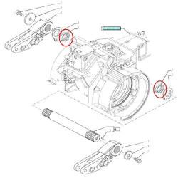 Uszczelniacz wałka podnośnika Case MXM175 MXM190 Puma CVX CVT Optum 270 CVX 300 CVX New Holland TM175 TM190 T7030 T7040 T7050 T7