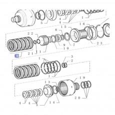 Pompa hydrauliczna case maxxum puma MXU100 , MXU110 , MXU115 , MXU130 19ccm New Holland t6 t7 87314177 47135548 84263360 051772