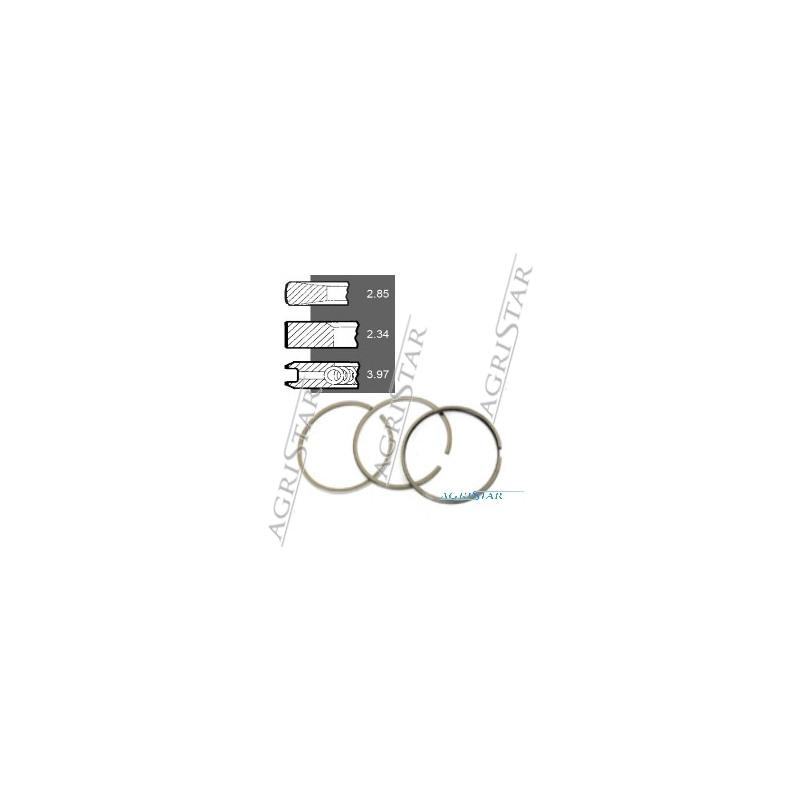 SCY4009 Pierścienie 104mm x2,50x2,50x4,00