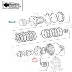 Półoś krótka Carraro McCormick MTX Case MX80C, MX90C, MX100, MX100C, MX110, MX120, MX135 Renault CLAAS ares