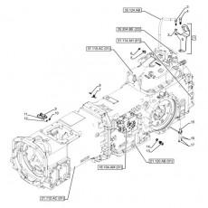 ELE51110 Przekaźnik rozruchu 12V 70A Case 5120, 5130, 5140, 5150 5220, 5230, 5240, 5250 CX100, CX50, CX60, CX70, CX80, CX