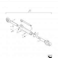 Łącznik Centralny Case Magnum 7130 7140 8920 MX220 MX240 MX255 New Holland T8.320 T8.330 T8.350 T8.390 284335A2 284335A3