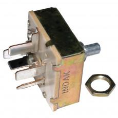 Przełącznik wentylatora Case MX100 MX135, MX150, MX170 McCormick: CX95 MC MTX XTX Landini 2018240924, 403129A1