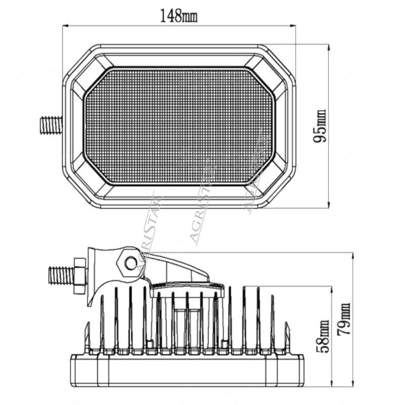 Osłona suwaka rozdzielacza hydraulicznego 85820130, 85811930