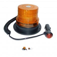 LED Lampa ostrzegawcza na magnes kogut Case John Deere Fendt Massey Ferguson Valtra Linde wózek widłowy paleciak