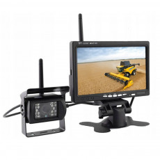 Kamera bezprzewodowa bezprzewodowy system kamery Kombajn prasa John Deere Claas New Holland Massey Ferguson Fendt