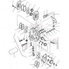 Dmuchawa wentylator kaminy Case/ IH: CS80, CS90, CS100, CS110, CS130, CS150 CVX new holland TVT135, TVT145, TVT155, TVT170, TVT1
