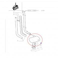 chłodnica wody case JX75, JX80, JX90, JX95 new holland TD75D, TD80D, TD80DPlus, TD85D, TD90D 5118305;5096052; 5104821;4981428