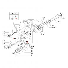 Przegób drążek końcówka kierownicza LM1133 LM732 LM5080 LM5060 LM5080 87669493
