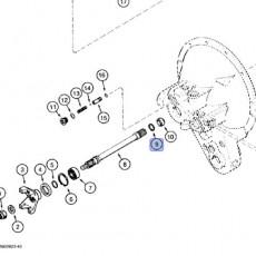 Uszczelniacz wałka pompy jazdy 580K 580SK B506444, A158354, 1348881C2, 1348881C1