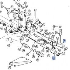 Wałek ramion podnośnika Case MXM175 MXM190 Puma CVX CVT Optum 270 CVX 300 CVX New Holland TM175 TM190 T7030 T7040 T7050 T7060 T7