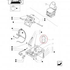Włącznik dźwignia przełącznik świateł kierunkowskazów klakson Renault 103-54 106-54 110-54 120-54 133-54 145-54 155-54 160-94 17
